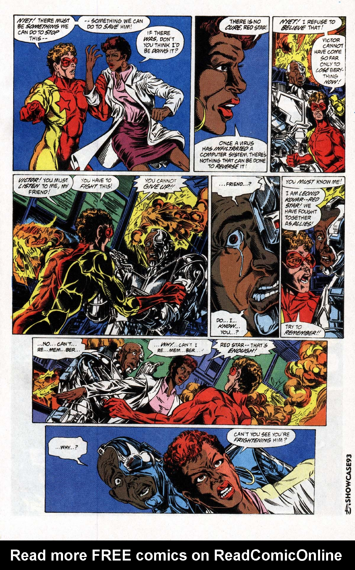 Read online Showcase '93 comic -  Issue #2 - 46