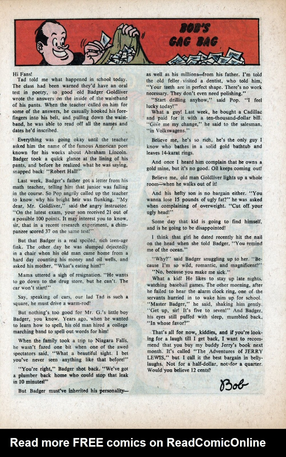The Adventures of Bob Hope issue 105 - Page 13