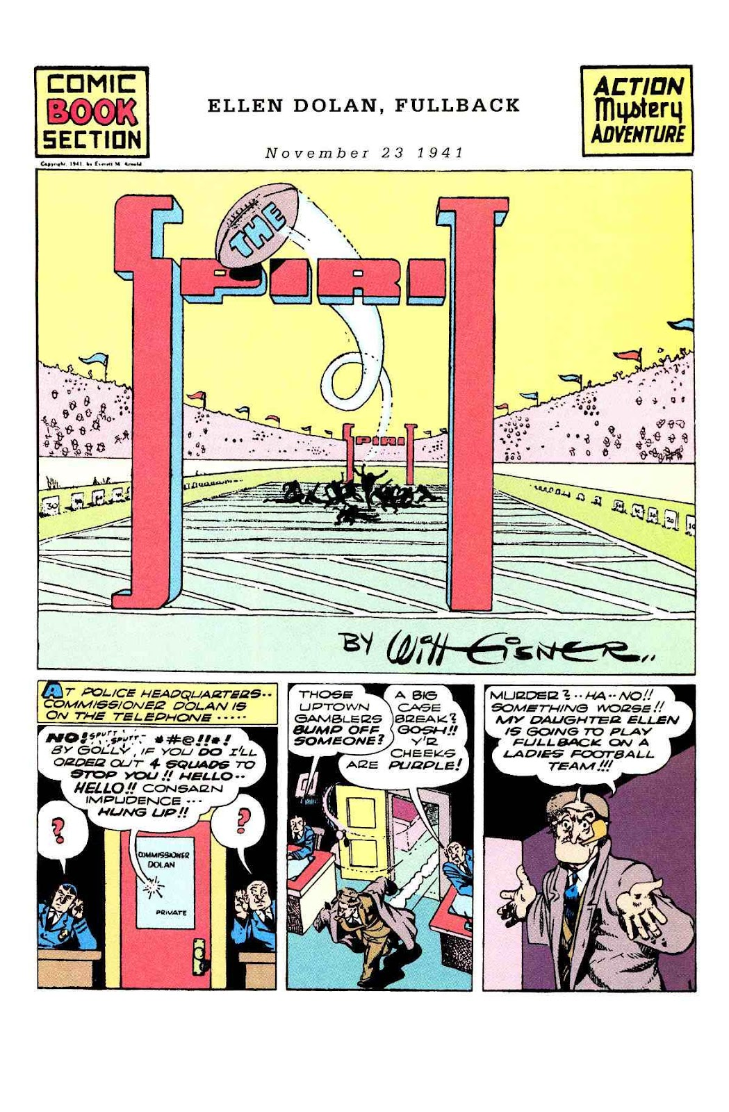 Read online Will Eisner's The Spirit Archives comic -  Issue # TPB 3 (Part 2) - 62