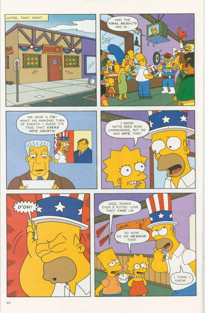 Read online Simpsons Comics comic -  Issue #58 - 21