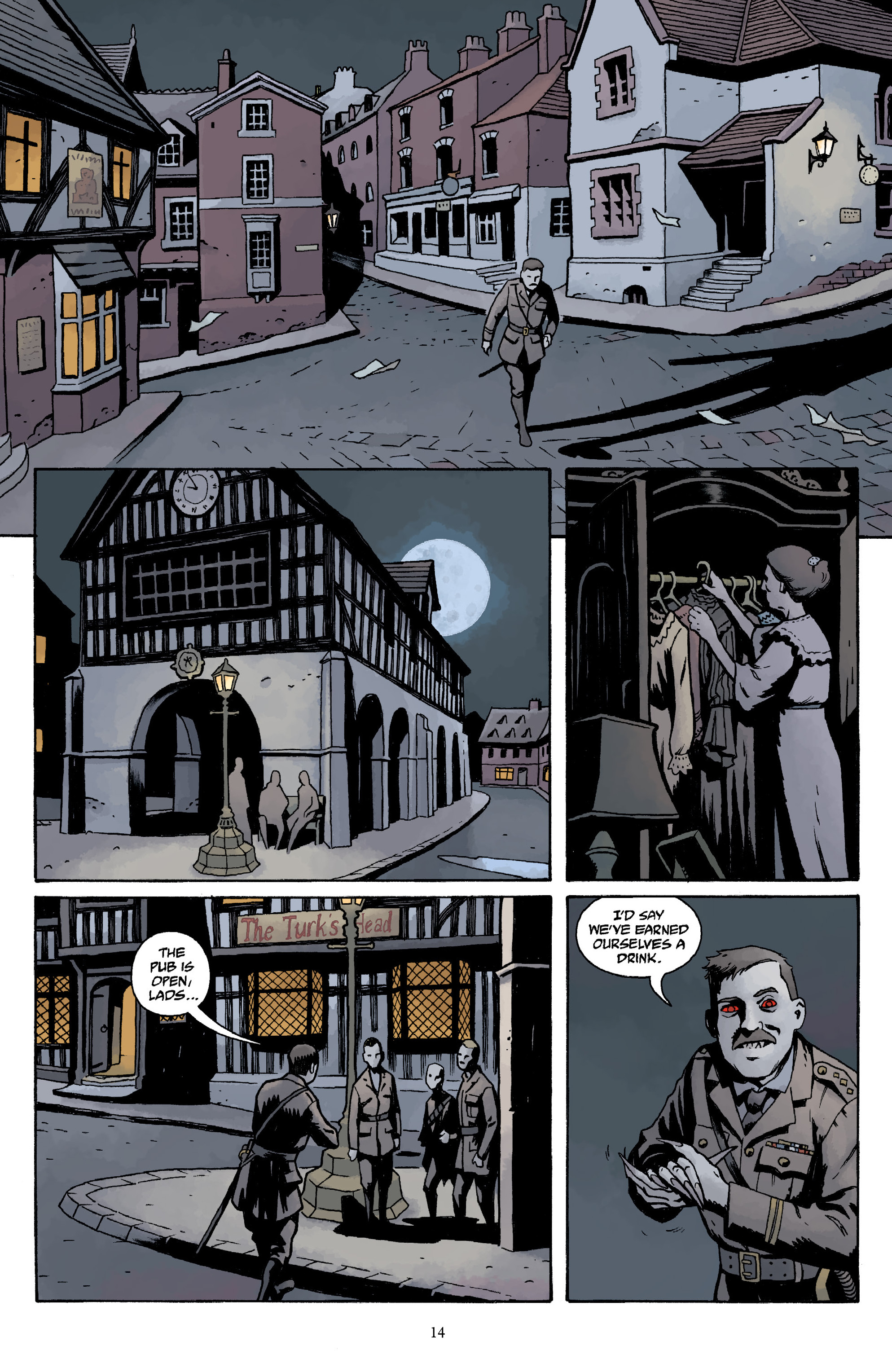 Read online Baltimore Volume 3: A Passing Stranger and Other Stories comic -  Issue # Full - 16