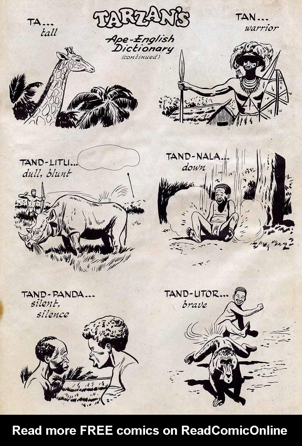 Tarzan (1948) issue 7 - Page 35