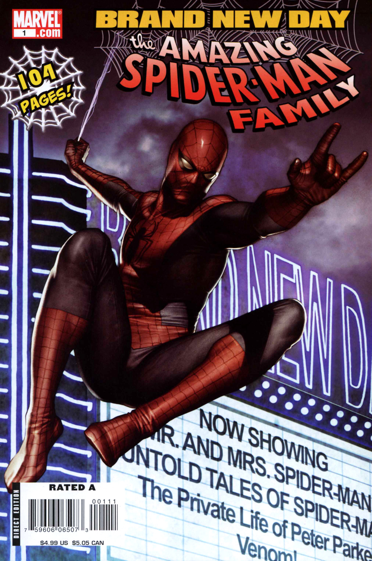 Read online Amazing Spider-Man Family comic -  Issue #1 - 1