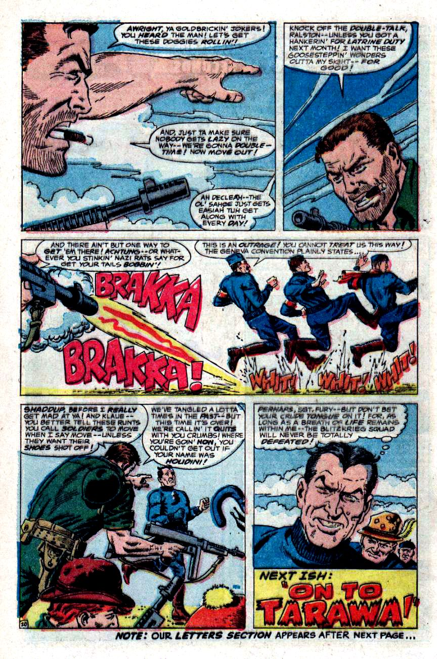 Read online Sgt. Fury comic -  Issue #48 - 27