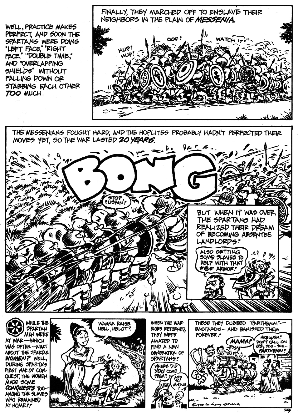 Read online The Cartoon History of the Universe comic -  Issue #5 - 31