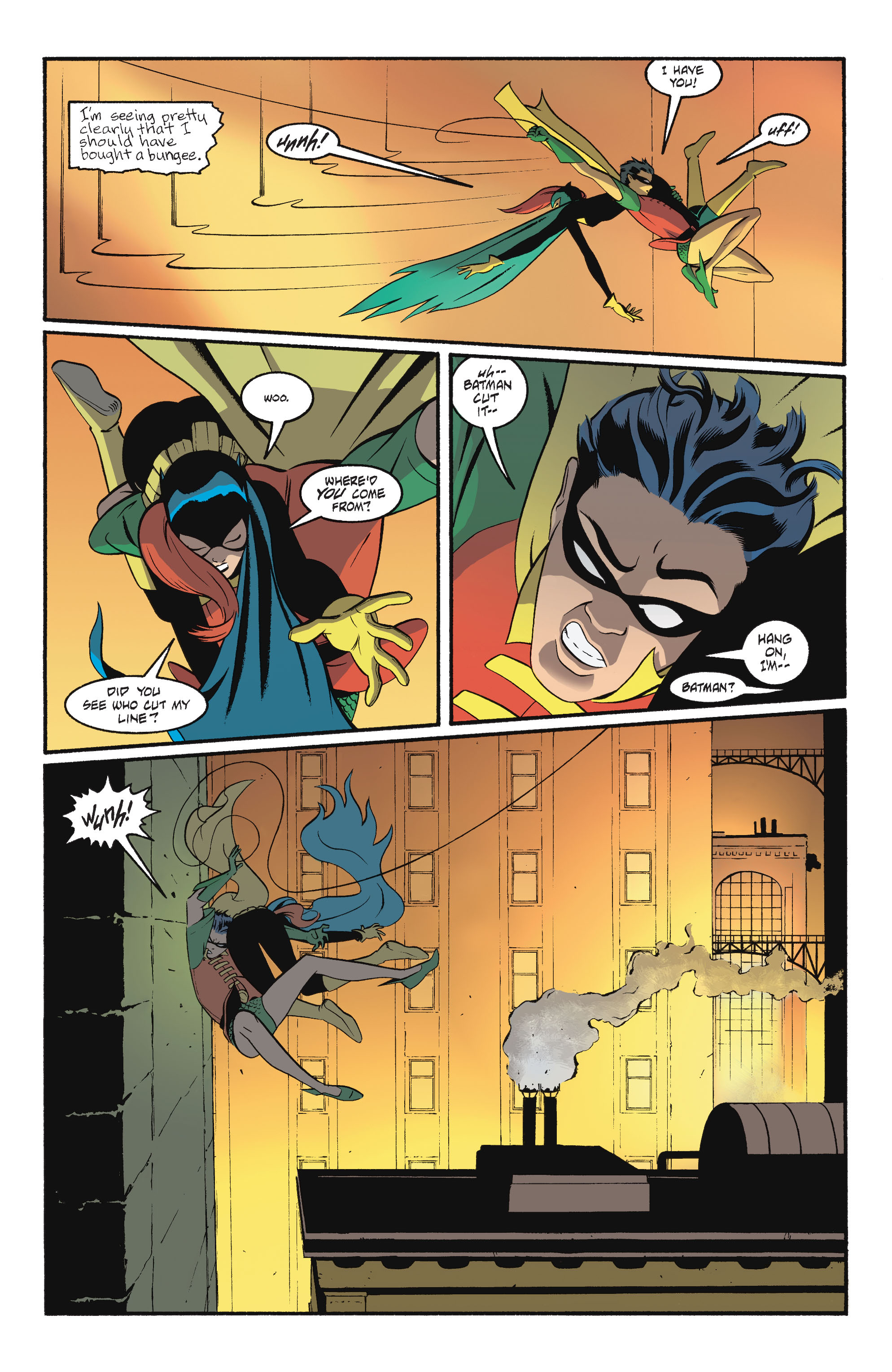 Read online Batgirl/Robin: Year One comic -  Issue # TPB 2 - 65