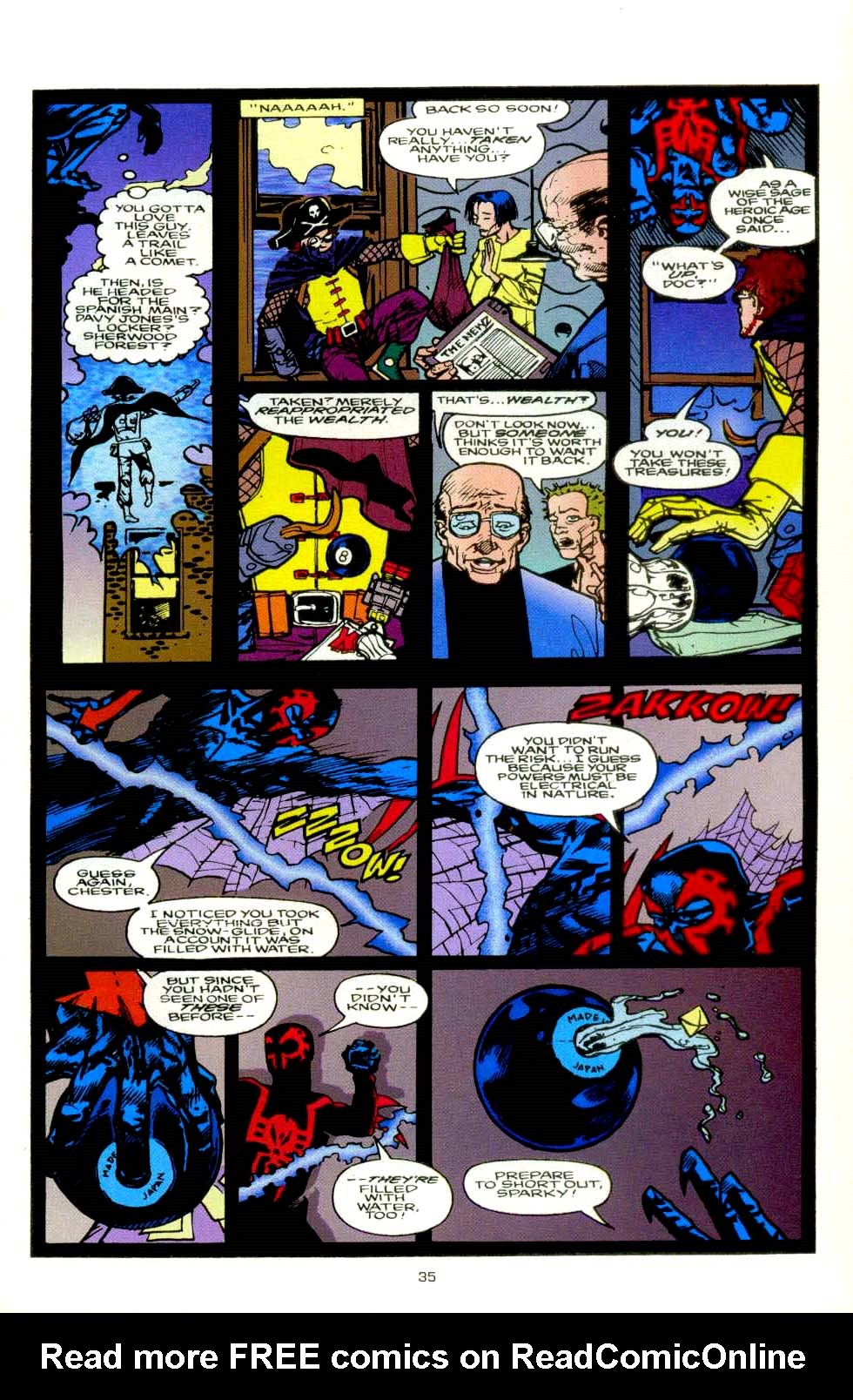 Read online 2099 Unlimited comic -  Issue #8 - 31