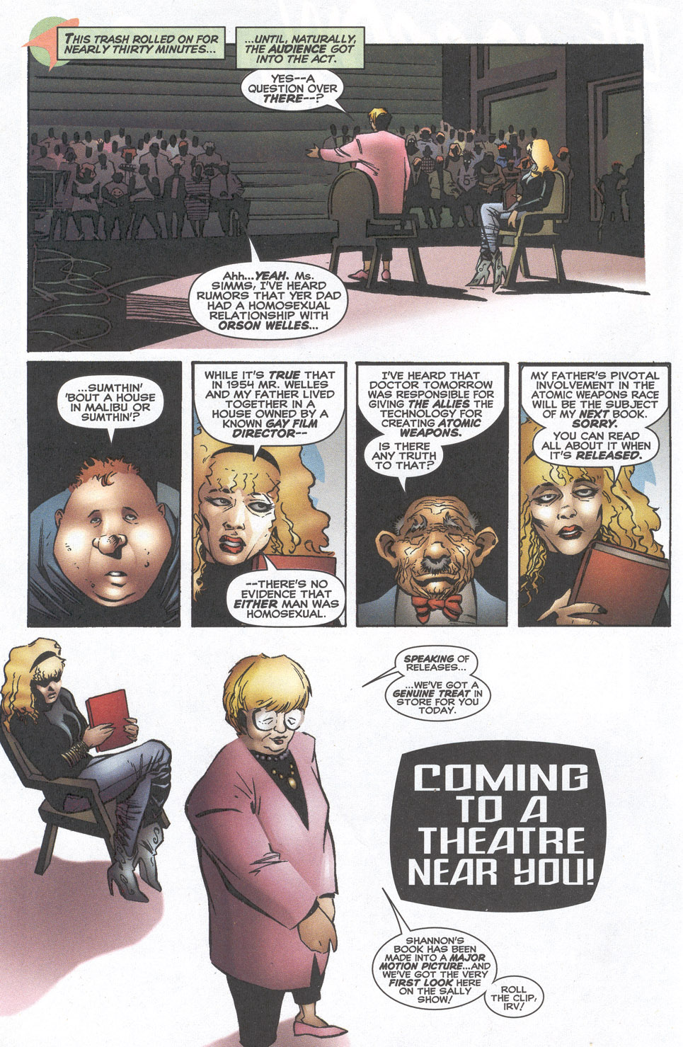 Read online Doctor Tomorrow comic -  Issue #10 - 3
