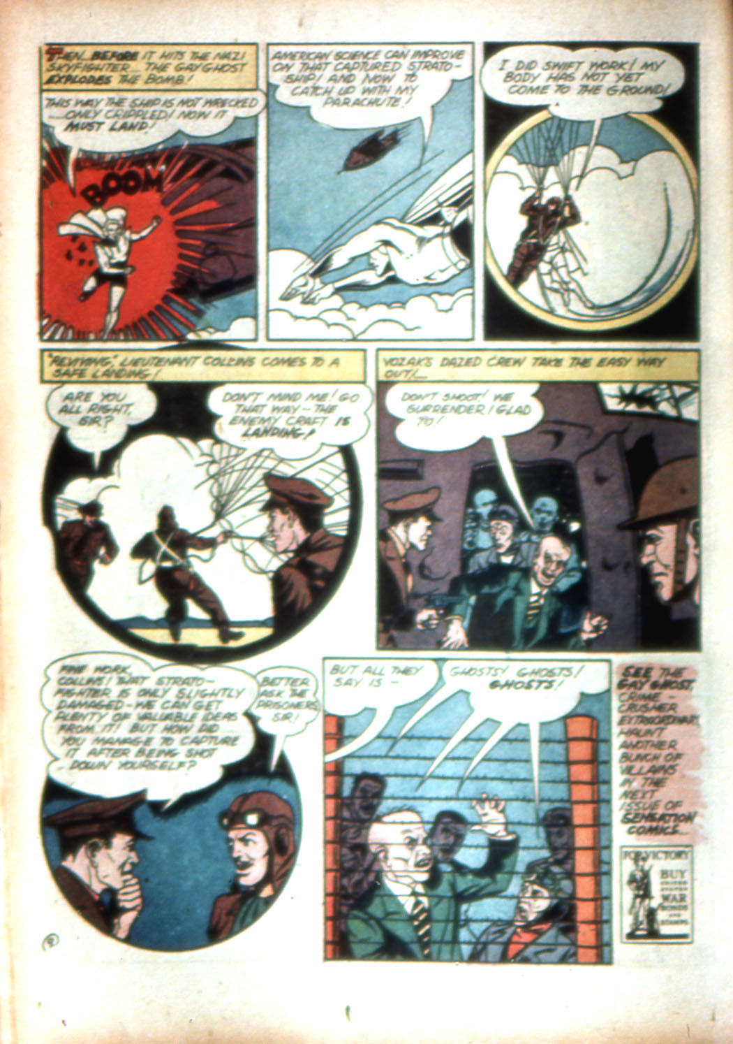 Read online Sensation (Mystery) Comics comic -  Issue #16 - 34