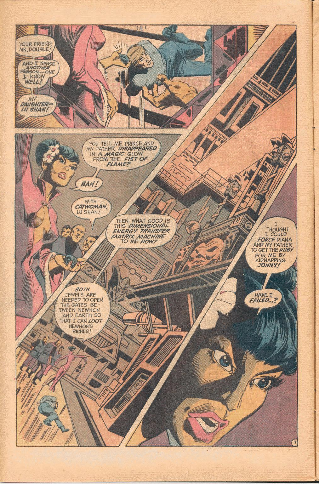Read online Wonder Woman (1942) comic -  Issue #202 - 8