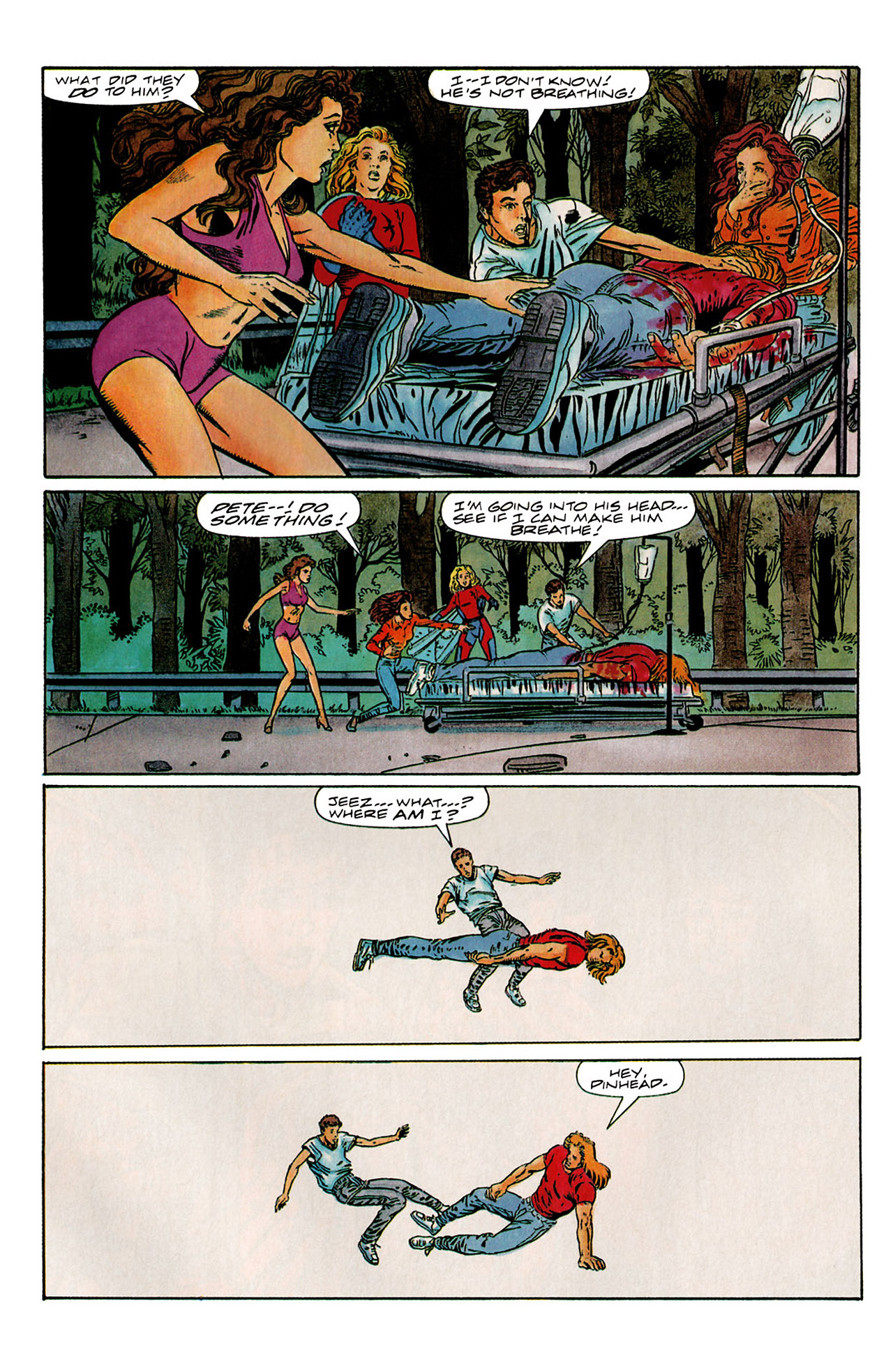 Read online Harbinger (1992) comic -  Issue #6 - 22