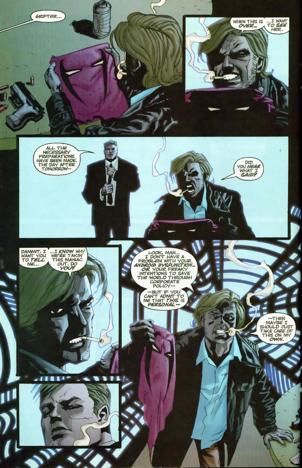 Wildcats (1999) Issue #18 #19 - English 10