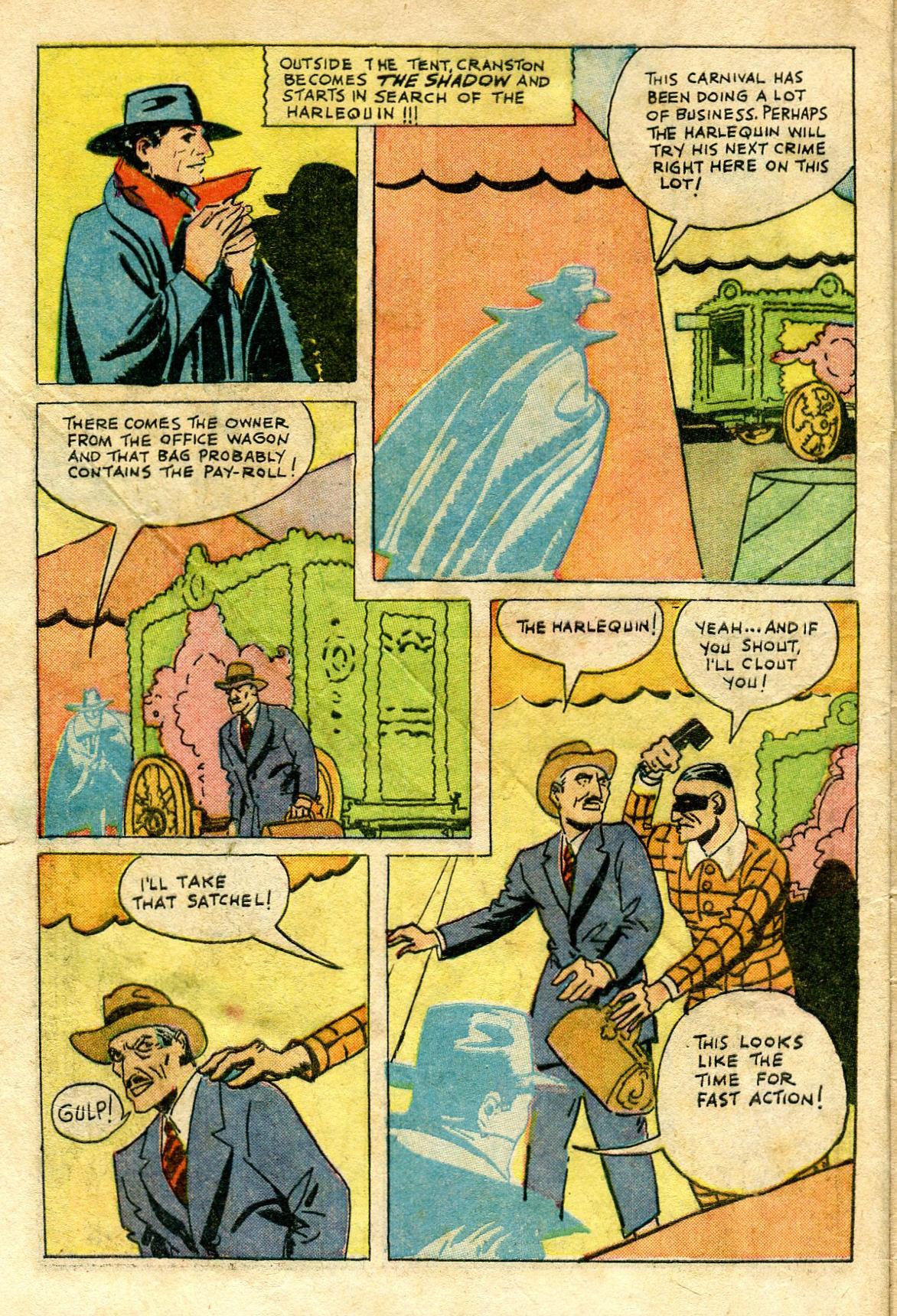 Read online Shadow Comics comic -  Issue #65 - 6