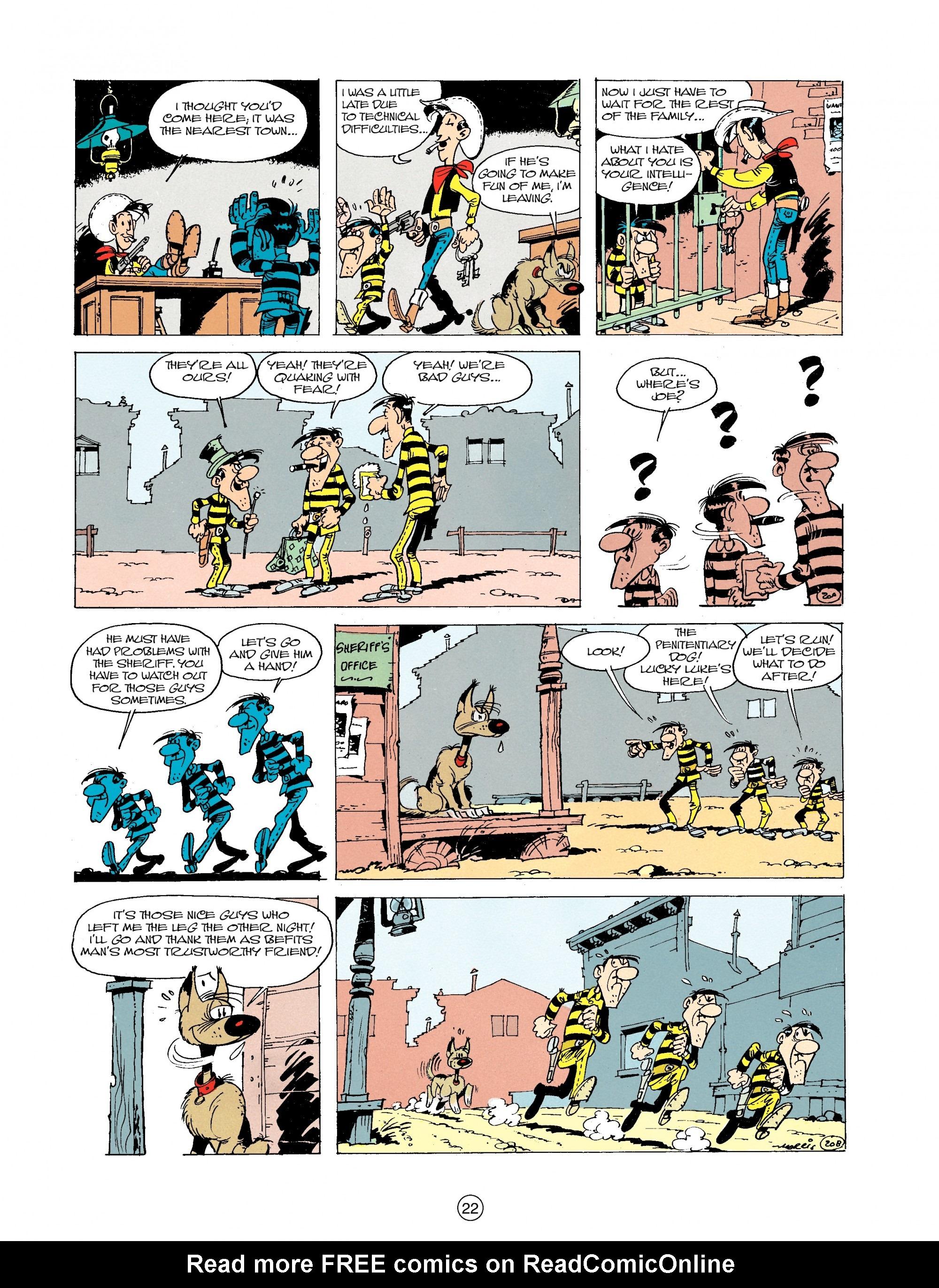 Read online A Lucky Luke Adventure comic -  Issue #19 - 22