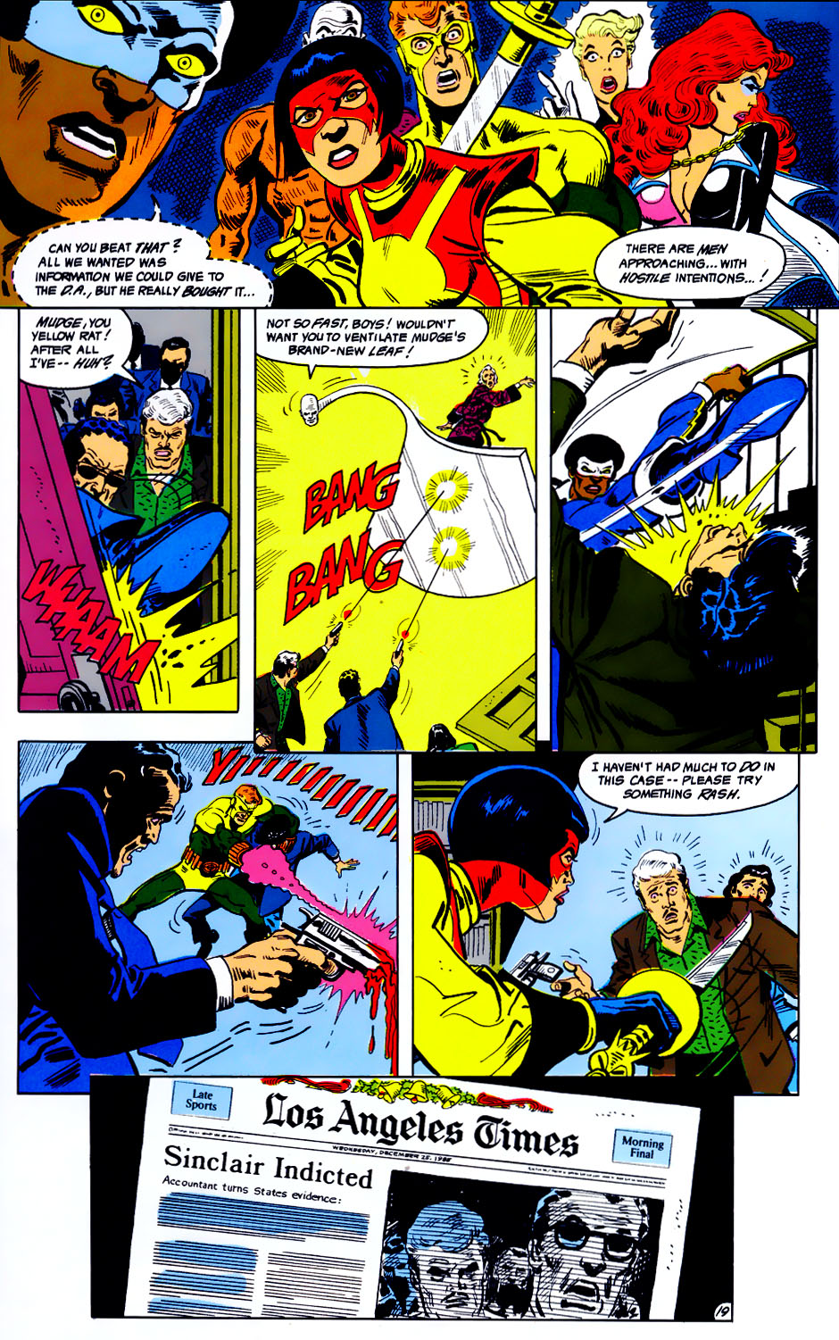 Read online Adventures of the Outsiders comic -  Issue #43 - 20