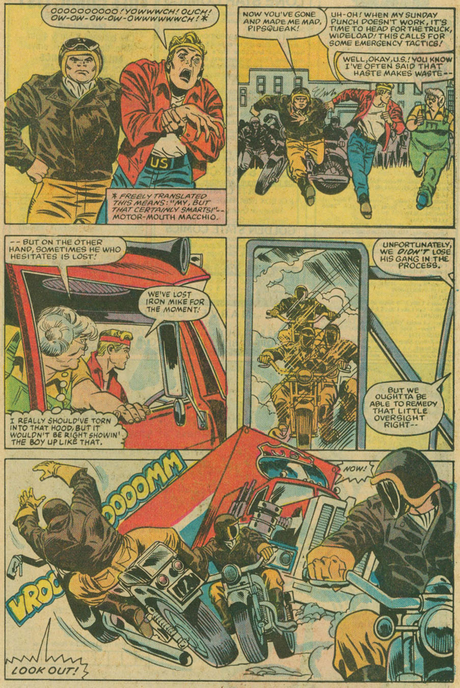 Read online U.S. 1 comic -  Issue #6 - 16