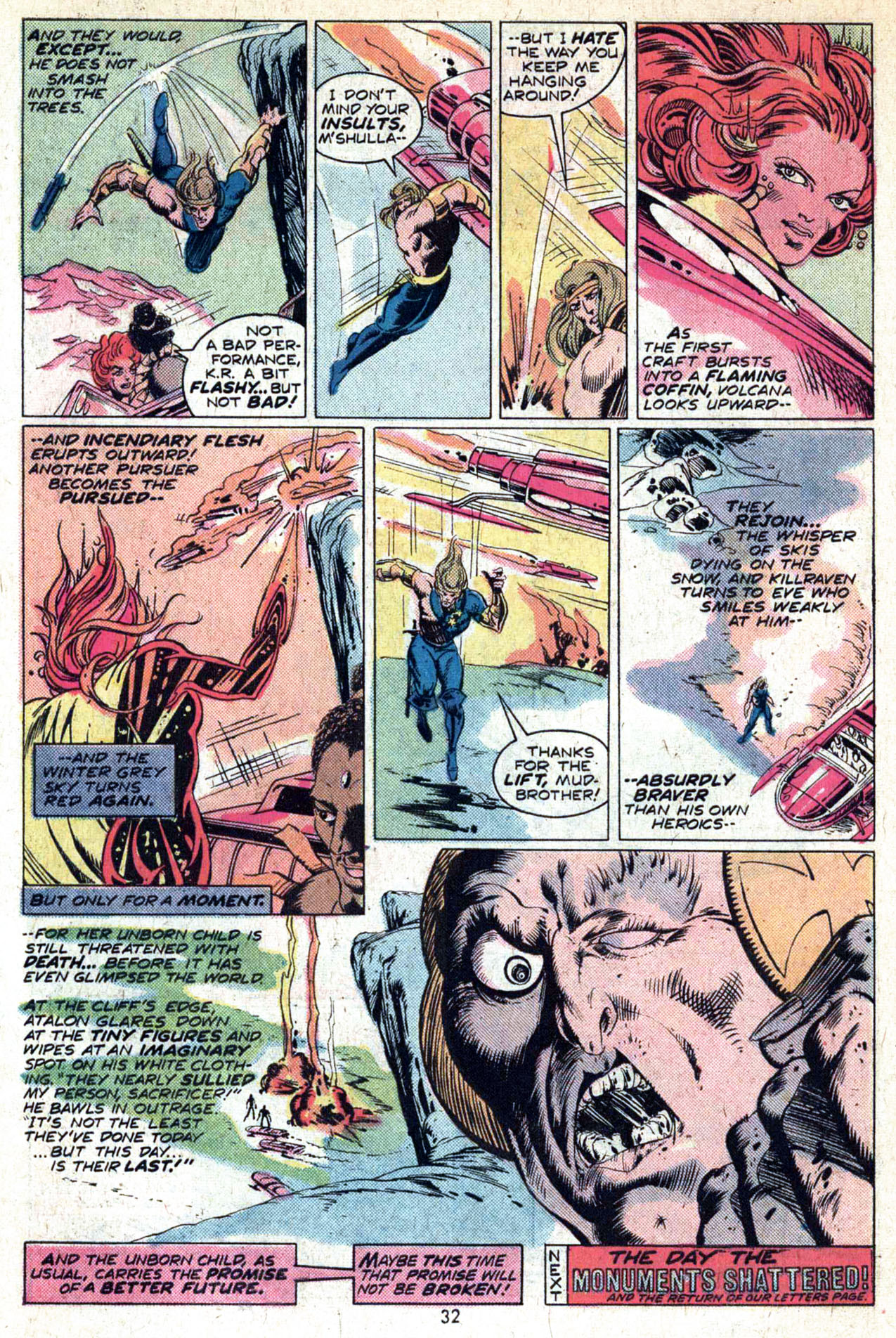 Read online Amazing Adventures (1970) comic -  Issue #29 - 34