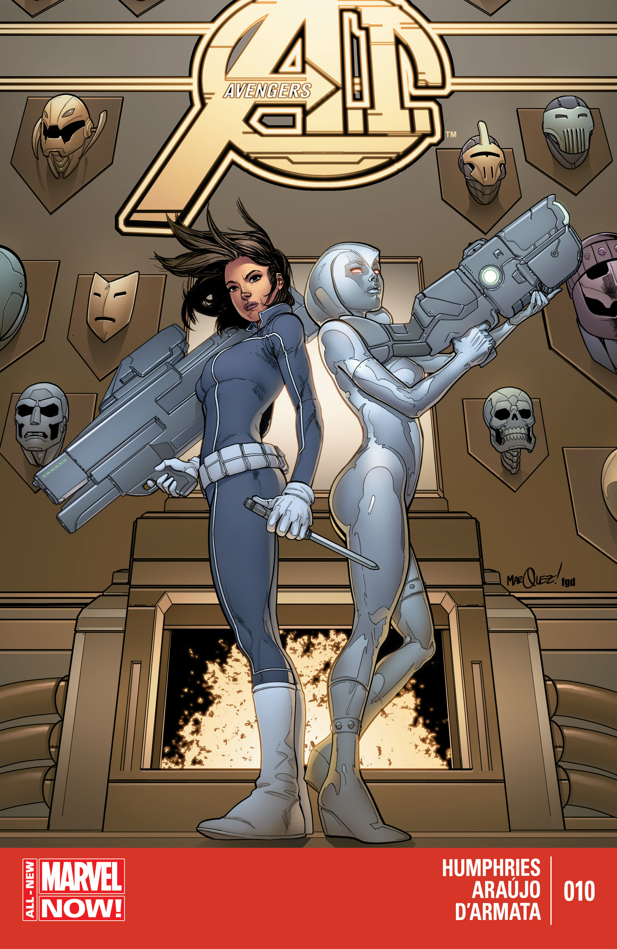 Avengers A.I. 10 Page 1