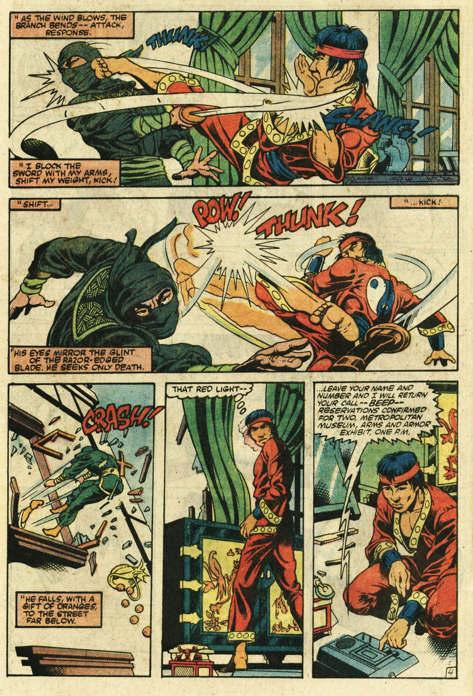 Read online Master of Kung Fu (1974) comic -  Issue #123 - 5