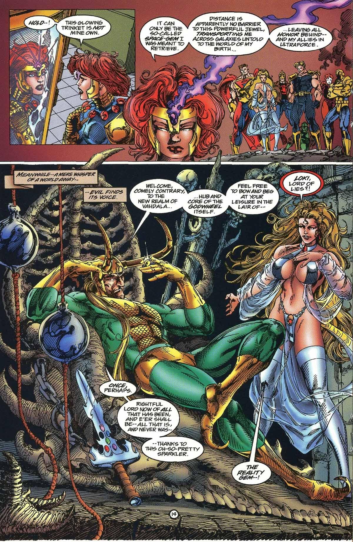 Read online UltraForce/Avengers comic - Issue # _Prelude 11