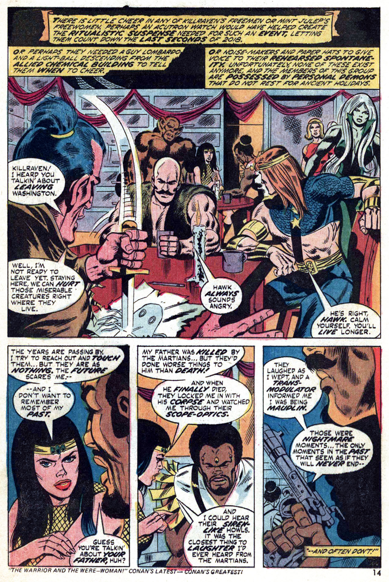 Read online Amazing Adventures (1970) comic -  Issue #24 - 15