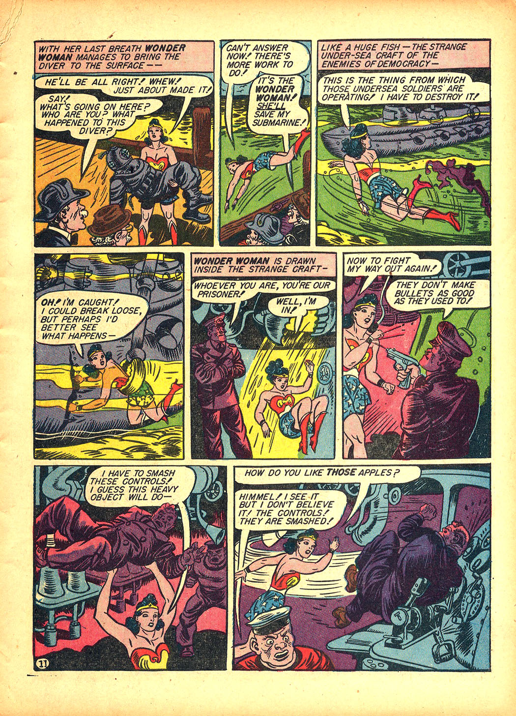 Read online Sensation (Mystery) Comics comic -  Issue #5 - 13