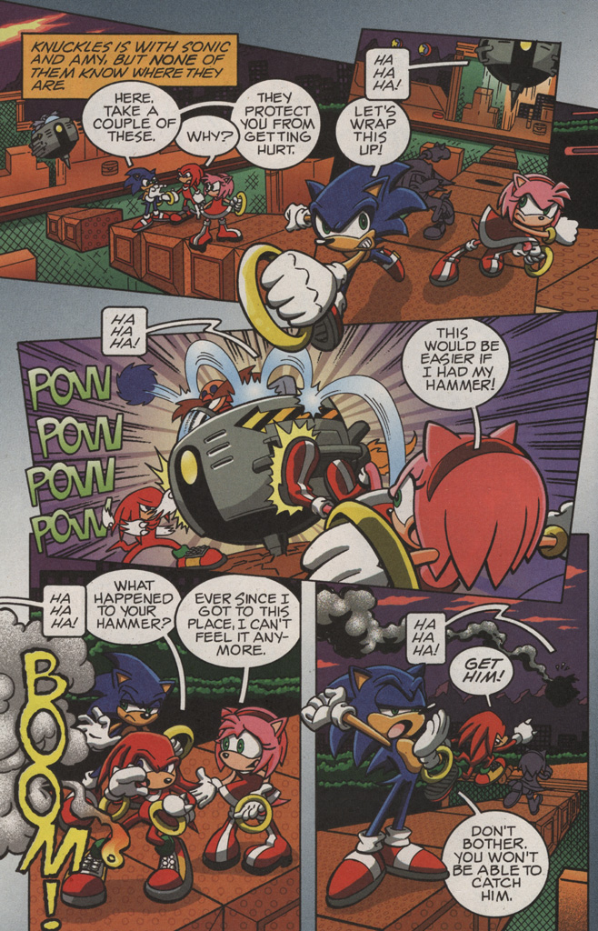 Read online Sonic X comic -  Issue #11 - 8