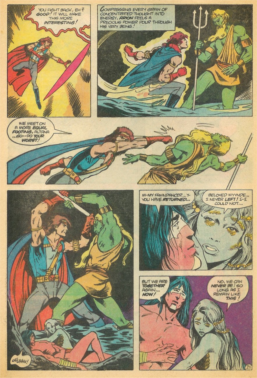 Read online Arion, Lord of Atlantis comic -  Issue #21 - 22