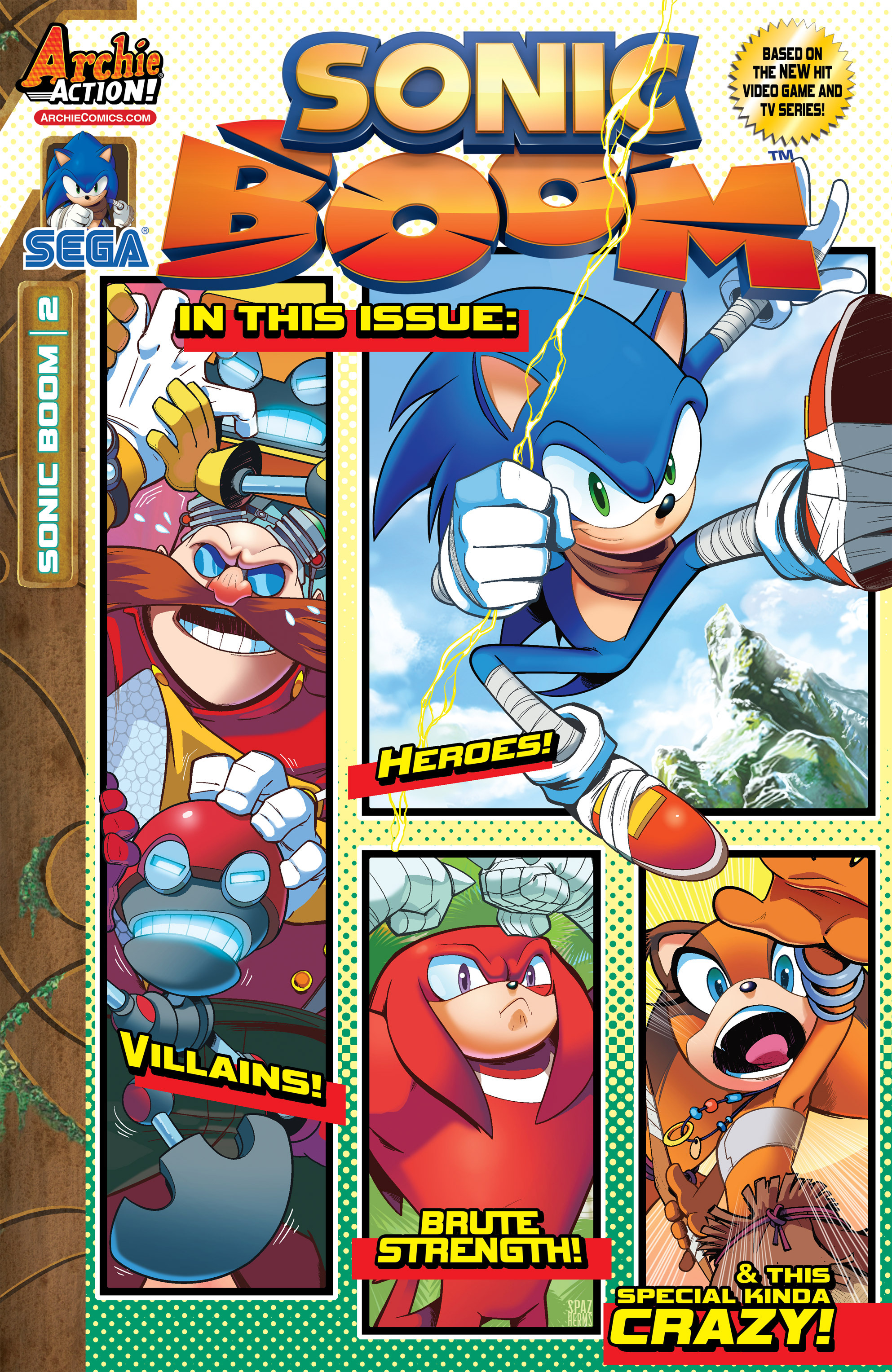 Read online Sonic Boom comic -  Issue #2 - 1