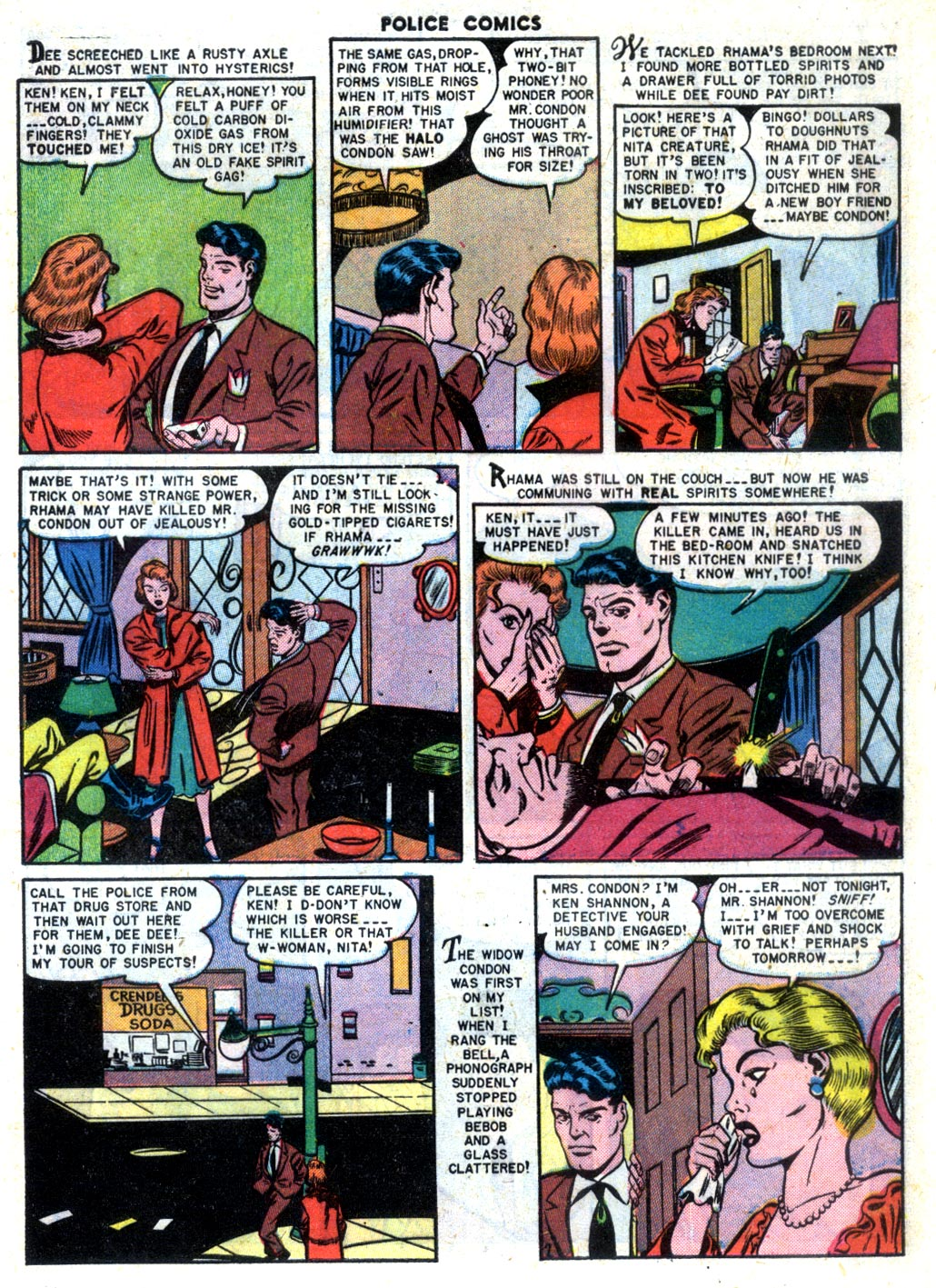Police Comics issue 105 - Page 9