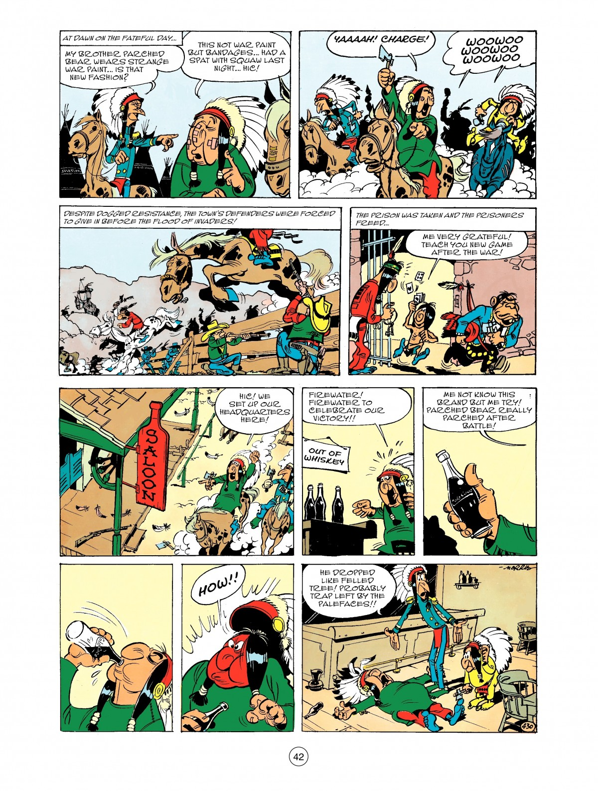 Read online A Lucky Luke Adventure comic -  Issue #43 - 42