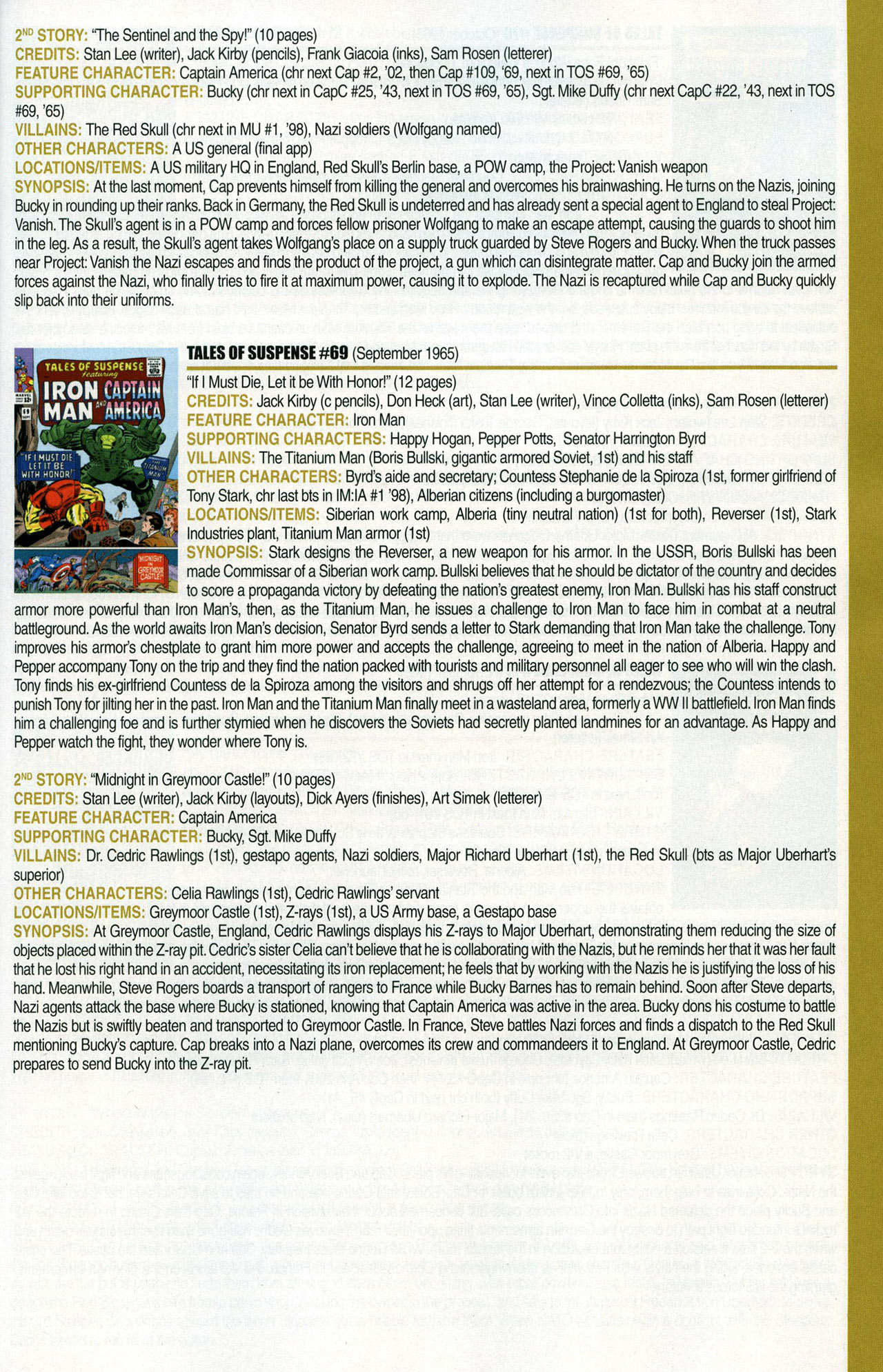 Read online Official Index to the Marvel Universe comic -  Issue #1 - 43