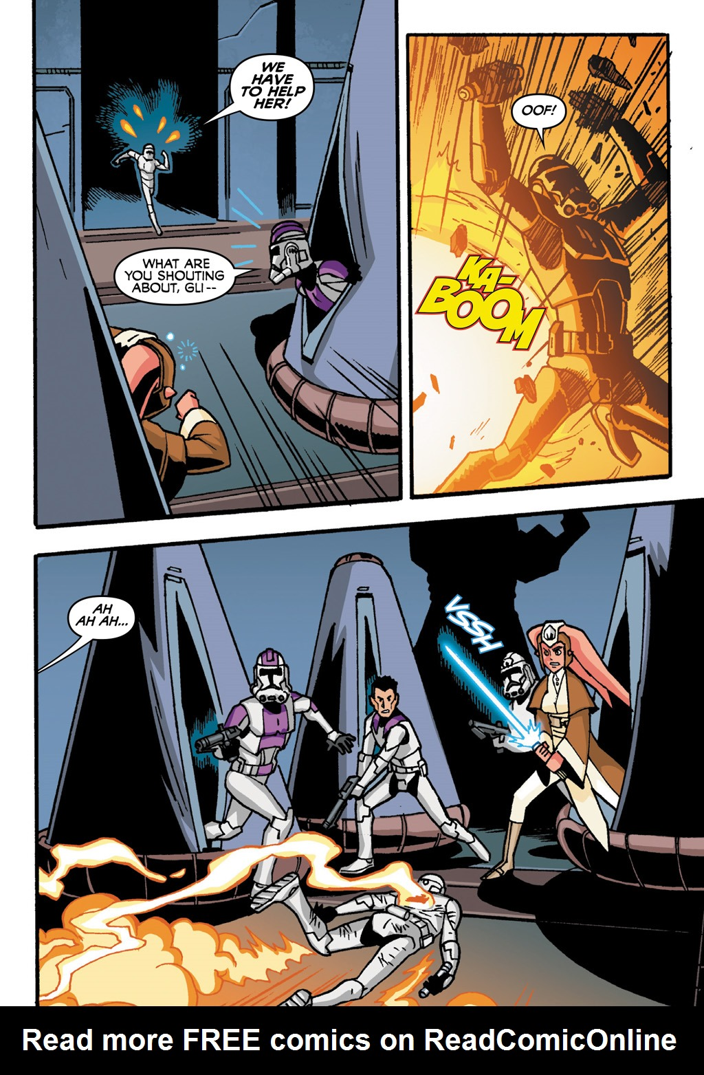 Read online Star Wars: The Clone Wars - Defenders of the Lost Temple comic -  Issue # Full - 53