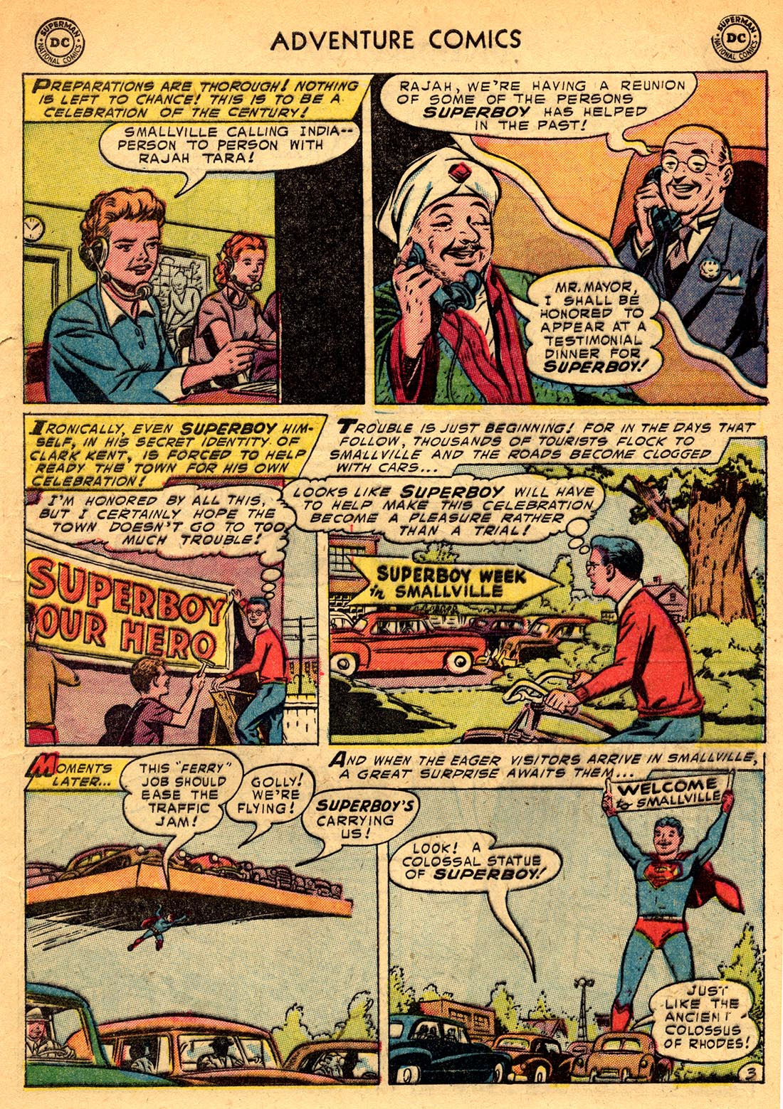 Read online Adventure Comics (1938) comic -  Issue #209 - 5