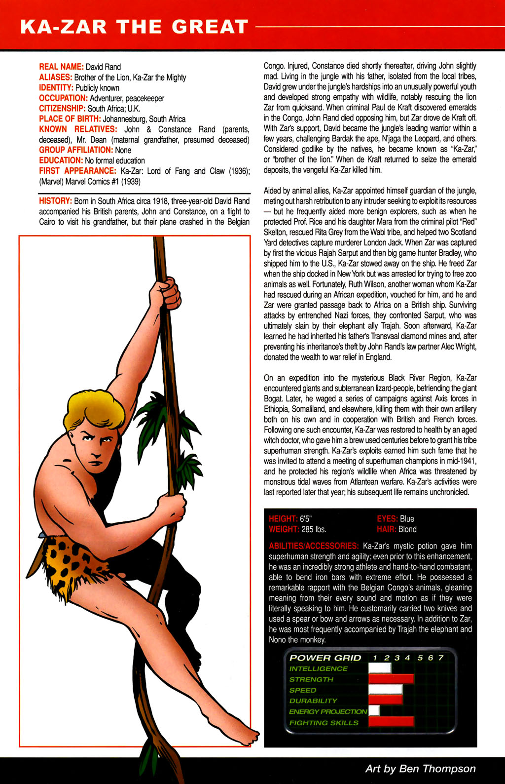 Read online All-New Official Handbook of the Marvel Universe A to Z comic -  Issue #6 - 8