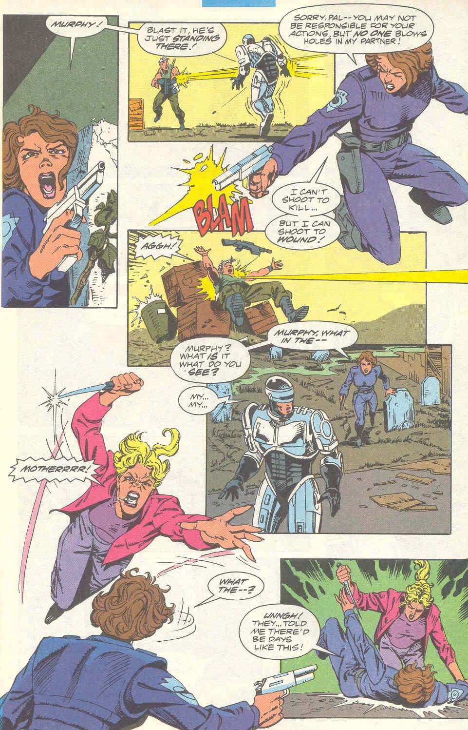 Read online Robocop (1990) comic -  Issue #16 - 18