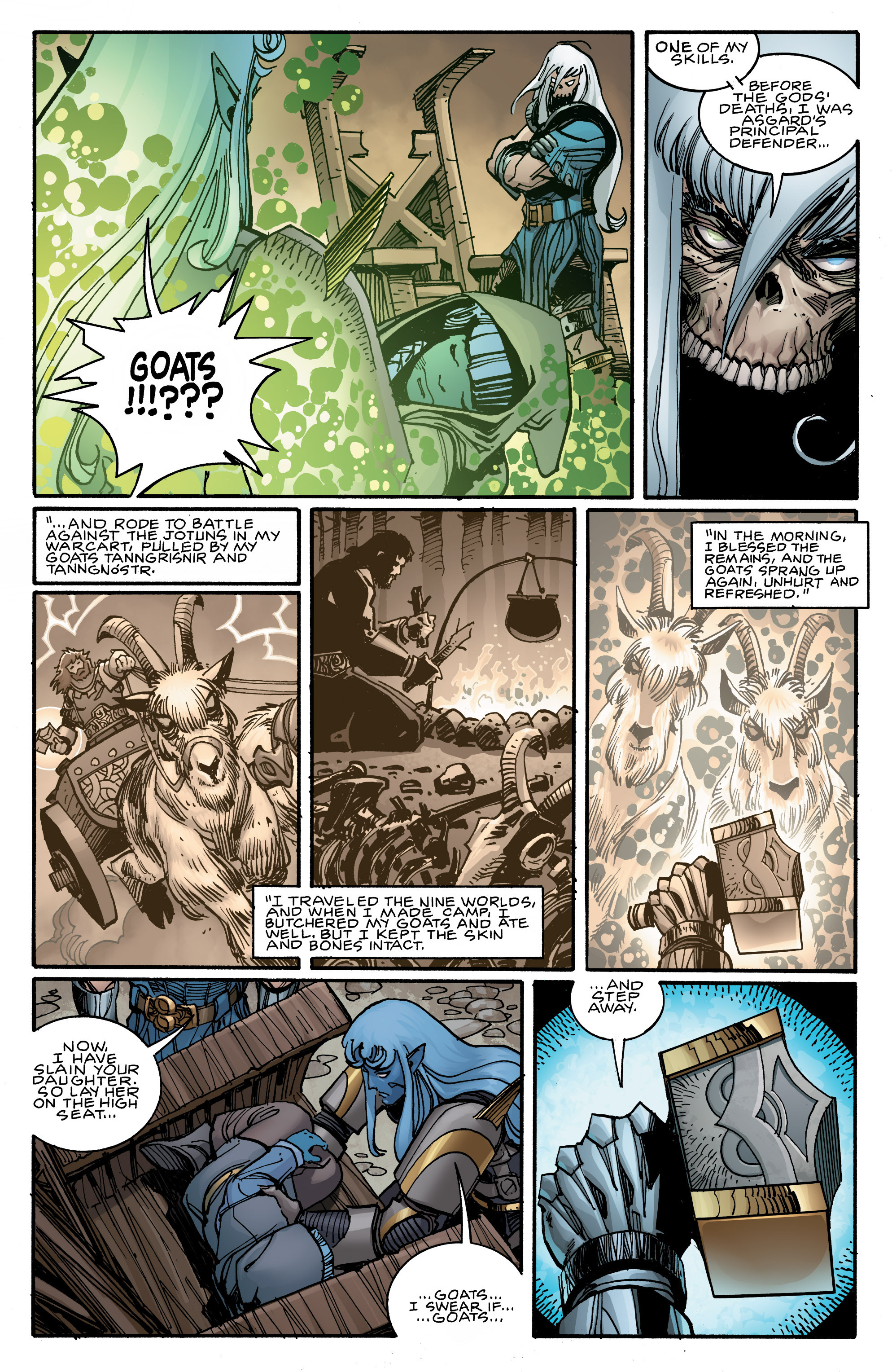 Read online Ragnarok comic -  Issue #9 - 8