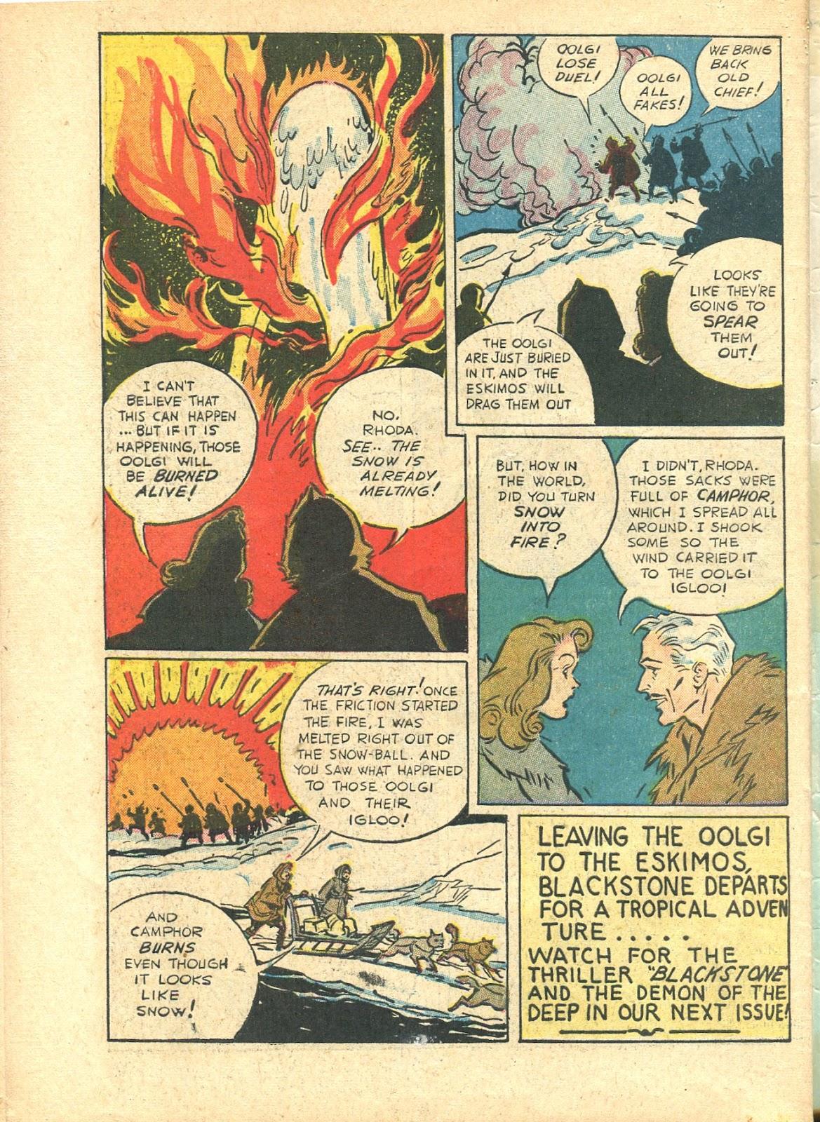 Read online Super-Magician Comics comic -  Issue #21 - 58