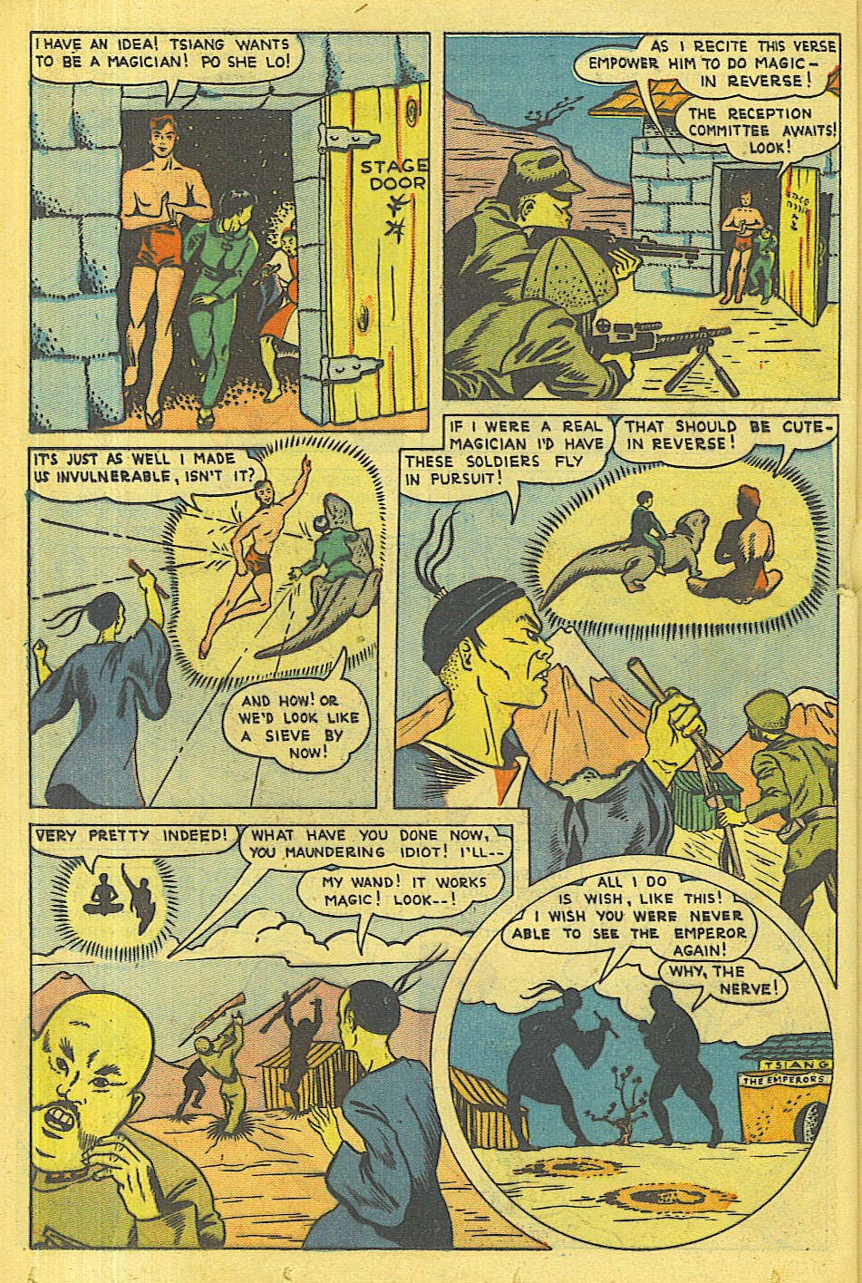 Read online Super-Magician Comics comic -  Issue #36 - 29