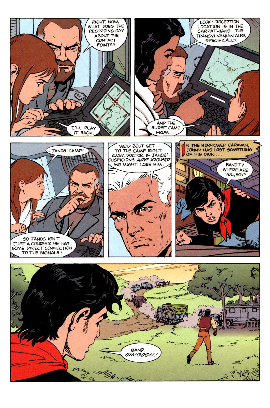 Read online The Real Adventures of Jonny Quest comic -  Issue #2 - 28