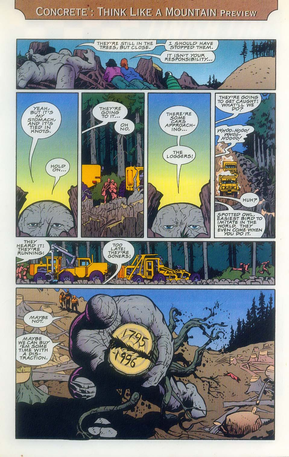 Godzilla (1995) Issue #8 #9 - English 33