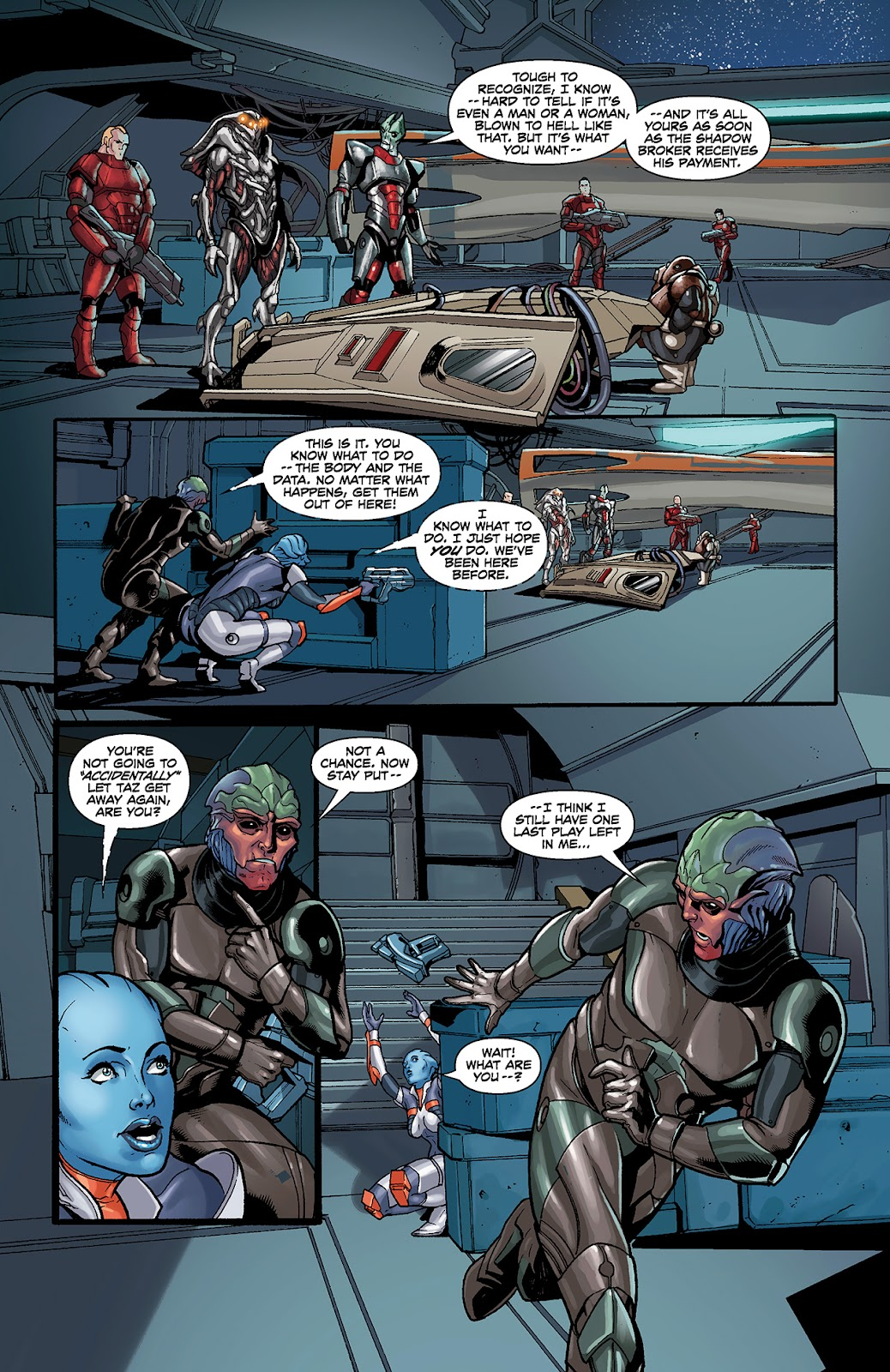Mass Effect: Redemption Issue #4 #4 - English 12