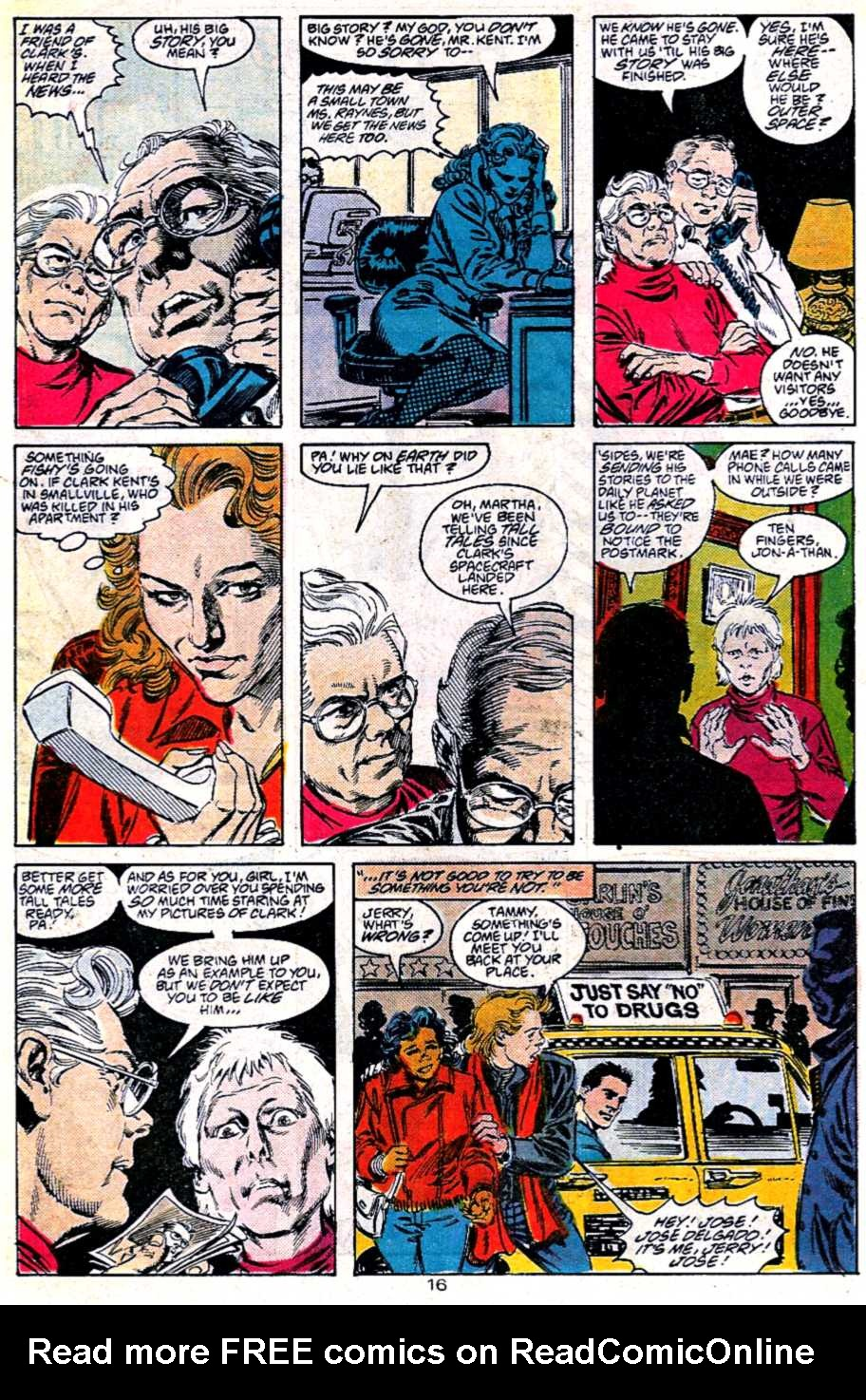Read online Adventures of Superman (1987) comic -  Issue #451 - 17