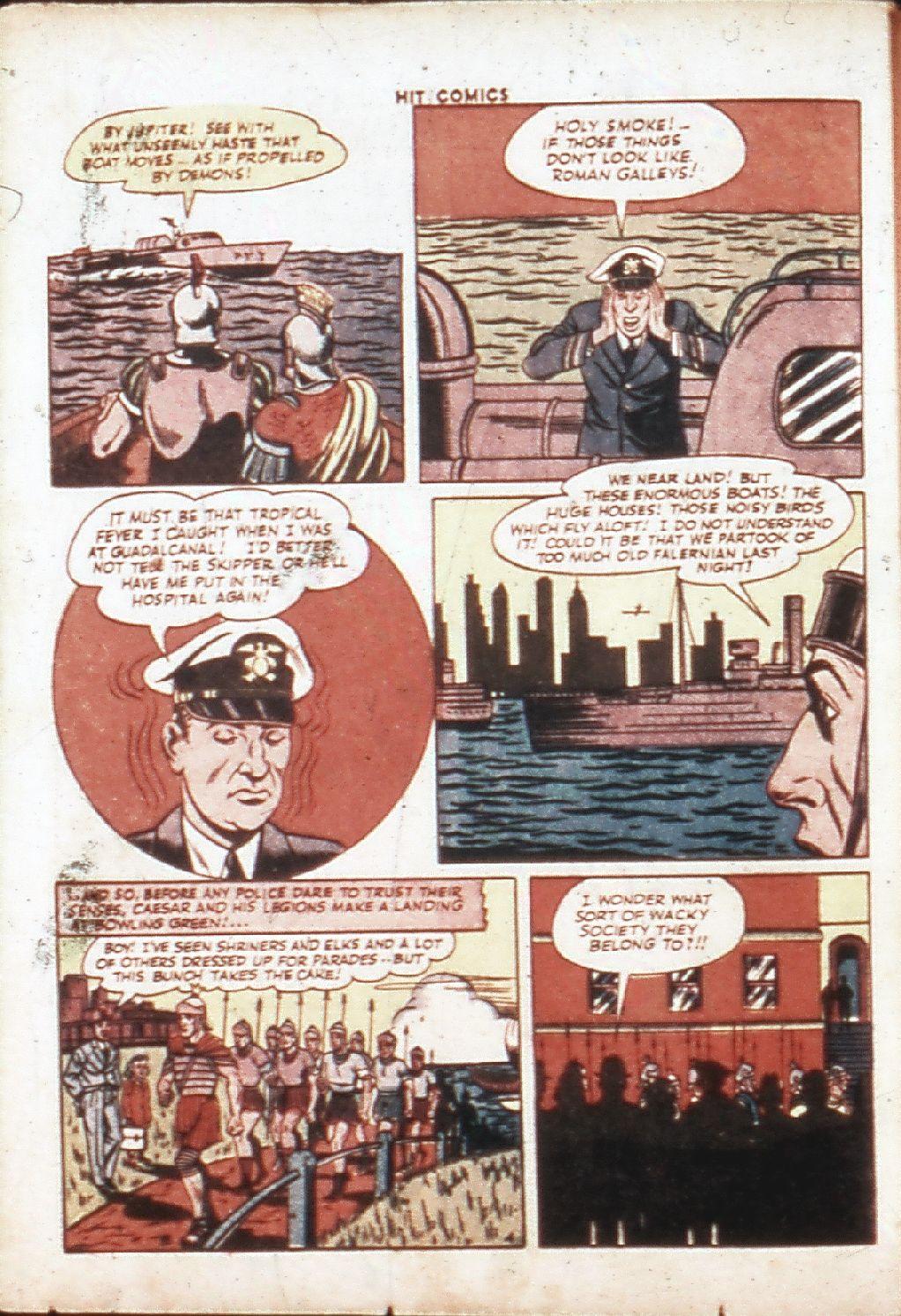 Read online Hit Comics comic -  Issue #30 - 7