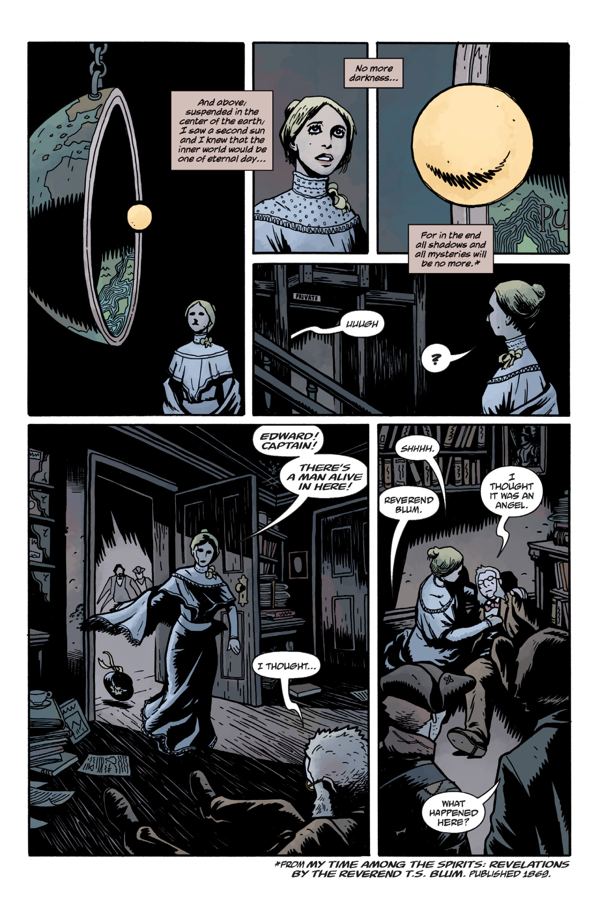 Read online Sir Edward Grey, Witchfinder: In the Service of Angels comic -  Issue # TPB - 71