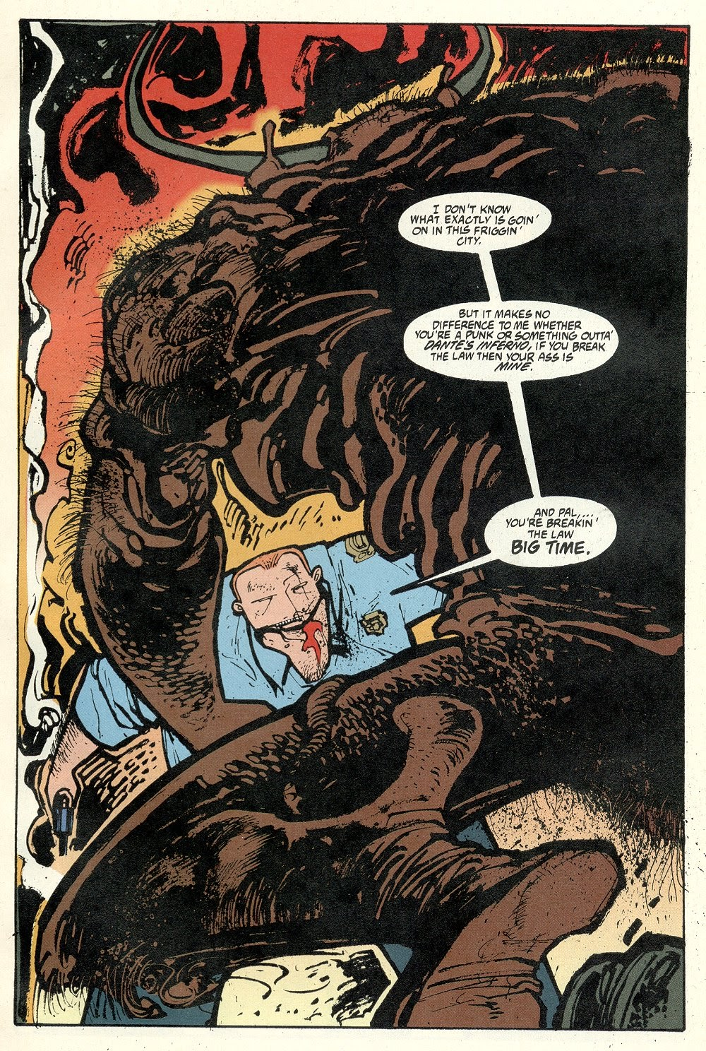 Read online Ted McKeever's Metropol comic -  Issue #11 - 3
