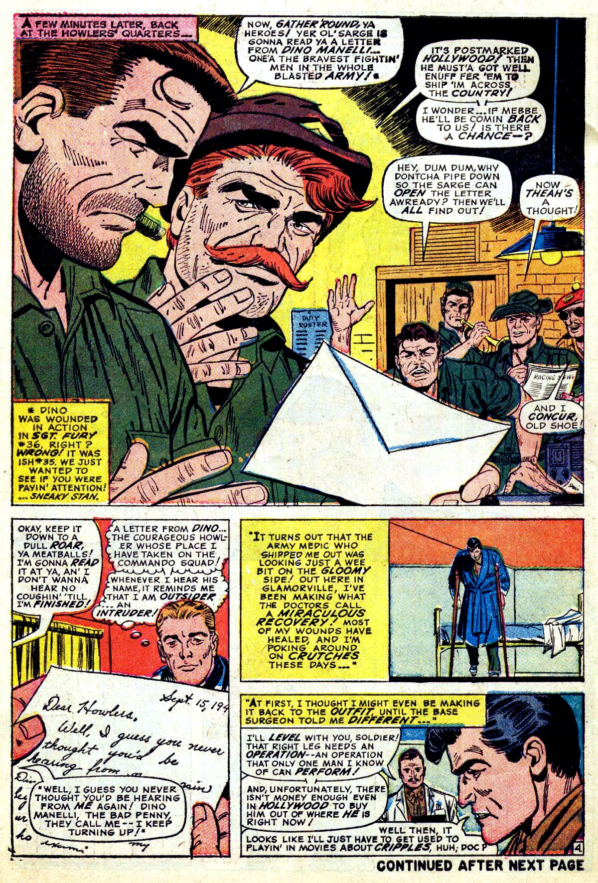 Read online Sgt. Fury comic -  Issue #38 - 6