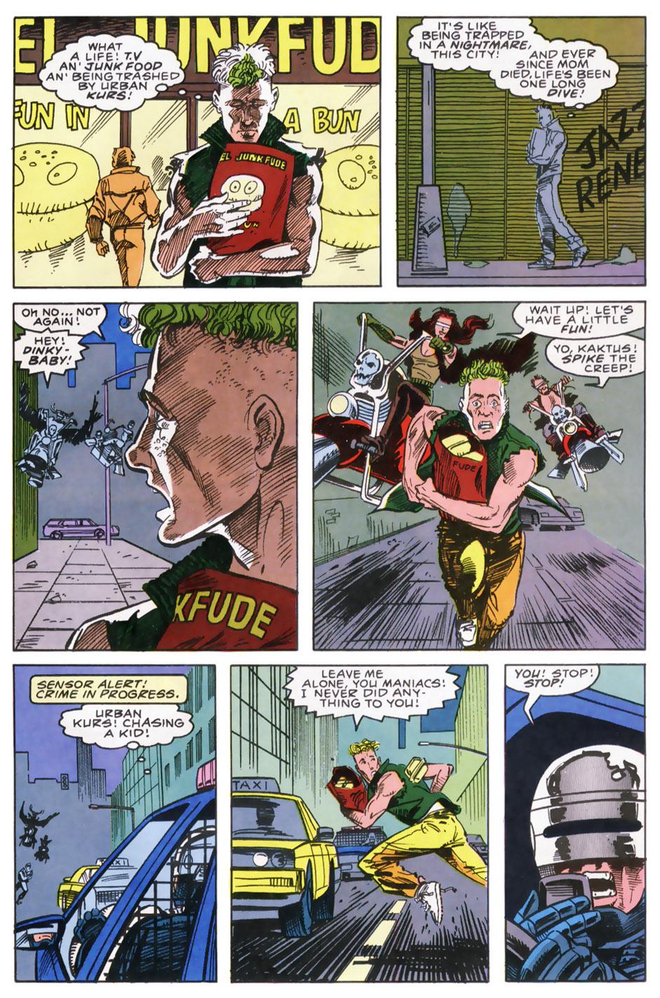 Read online Robocop (1990) comic -  Issue #9 - 20