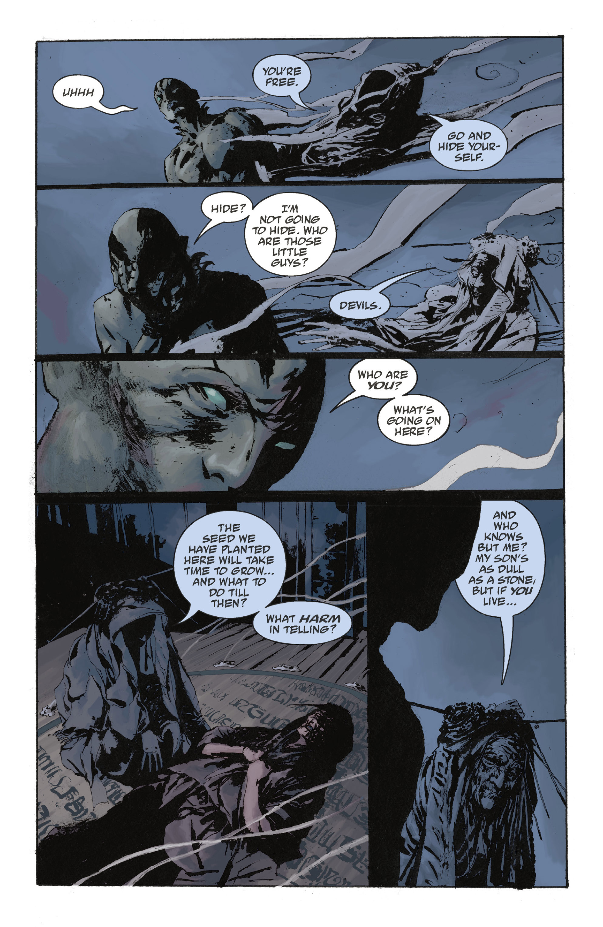 Read online Abe Sapien: The Drowning comic -  Issue #Abe Sapien: The Drowning _TPB - 94