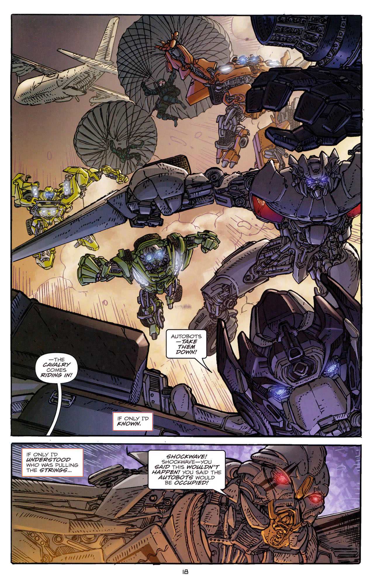Read online Transformers: Dark of the Moon Rising Storm comic -  Issue #3 - 19